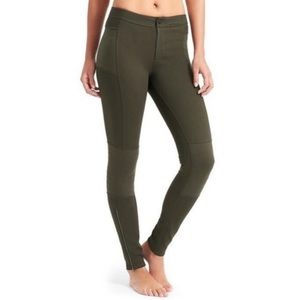 Athleta • Ponte Motion Moto Pants Green